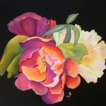 Diana K Large roses painting