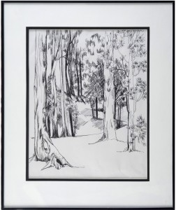 Frames Trees Drawing_1500