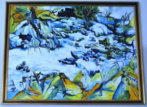 Creek in Donvale Oil_1400
